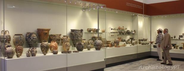 克里特島上的希拉克里翁考古博物館一隅