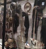 皮特河博物館內展出的縮小頭顱