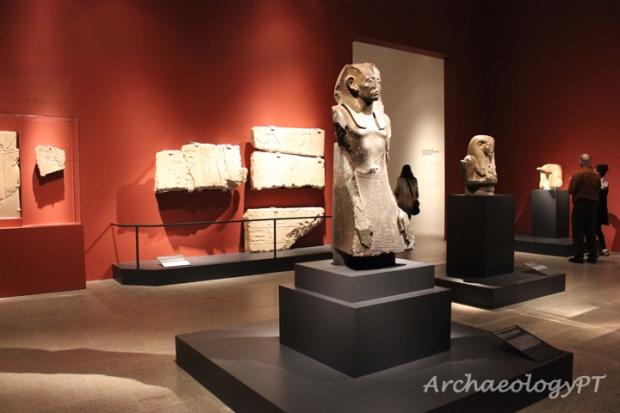 「古埃及轉化:中王國時期」展場一景