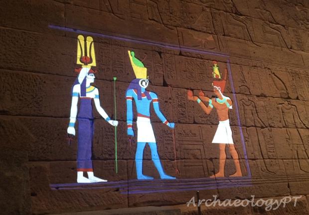 Temple of Dendur color 1-考古現在式