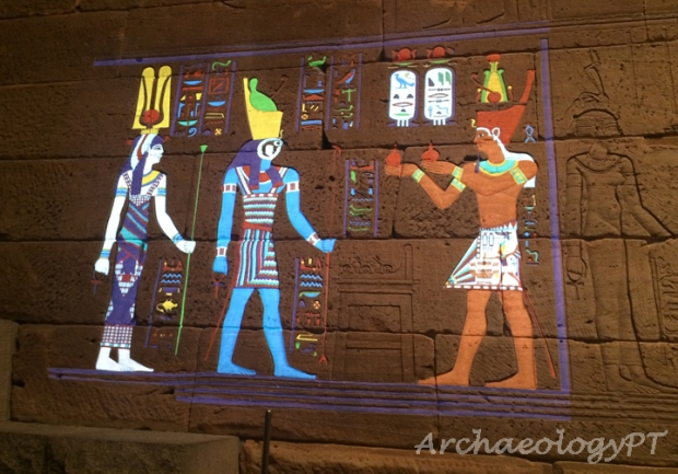 Temple of Dendur color 2-考古現在式