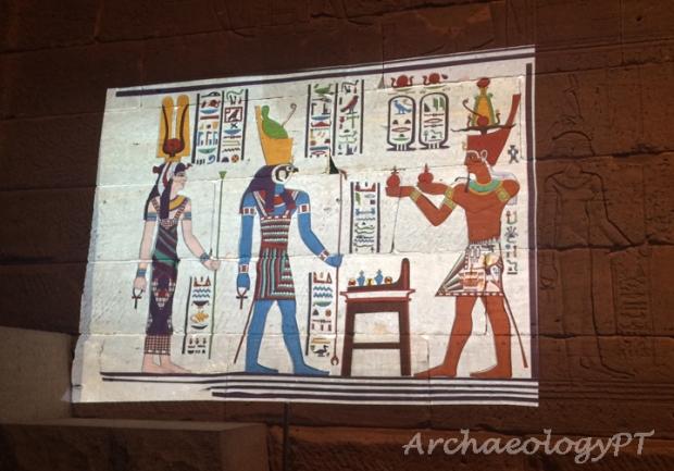 Temple of Dendur color 3-考古現在式