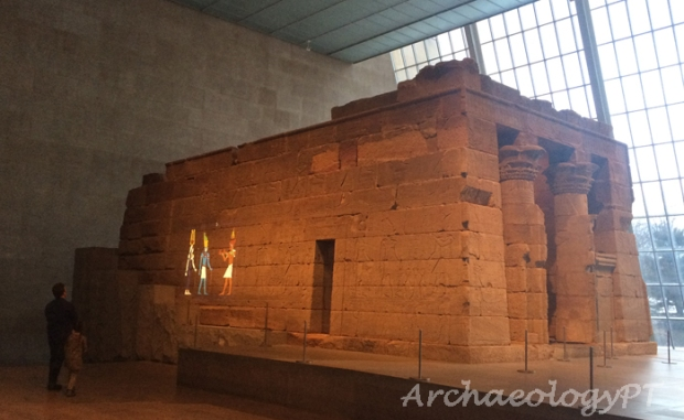 Temple of Dendur-考古現在式